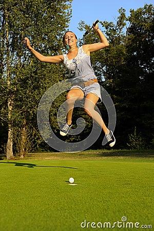 Golfer-six