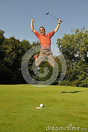 Golfer two