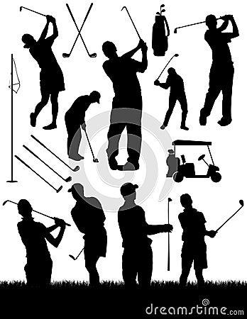 Free Golfing Elements Stock Photos - 14049383