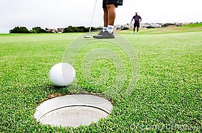 Golfing pairs