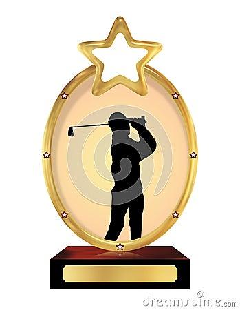 Golfing Trophy