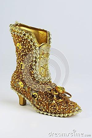Free Golg Boot Royalty Free Stock Image - 359516