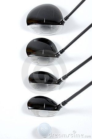 Free Golg Clubs Stock Photography - 13975142