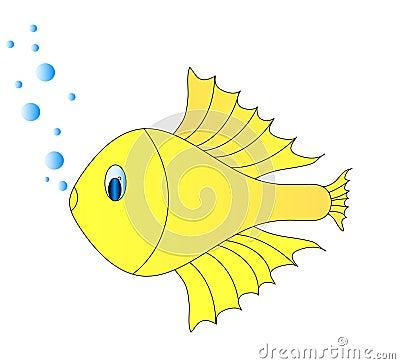Free Golg Fish Royalty Free Stock Image - 9896596