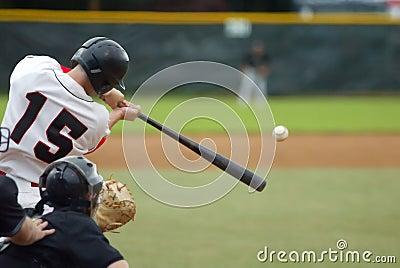 ¡Golpe del béisbol!
