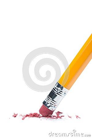 Gomme à effacer de crayon