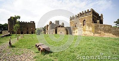 Gonder Castle, Gondar, Ethiopia