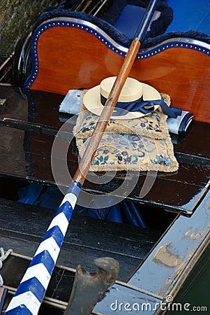 Free Gondola And Hat, Venice Stock Photos - 21893313
