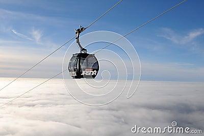 Gondola in Jasná - Slovakia Editorial Photography