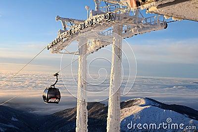 Gondola in Jasná - Slovakia Editorial Image