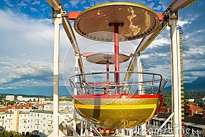 Gondola in the sky