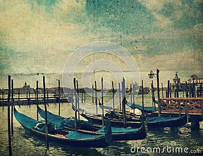 Gondola. Venice