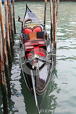 Gondola of Venice Italy