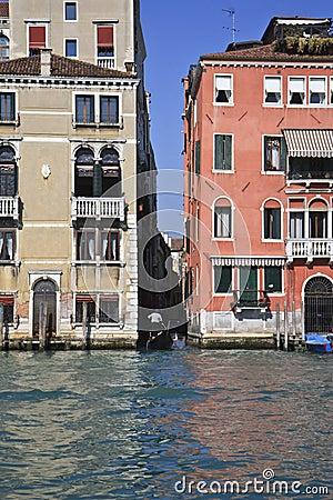 Gondola in Venice, Italy Canal