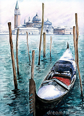 Gondola in winter