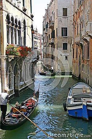 Free Gondolas In Venice Stock Image - 682351