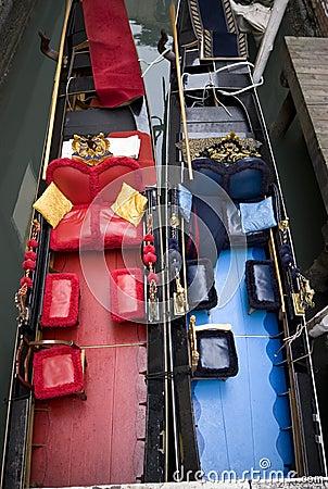 Gondolas in Winter