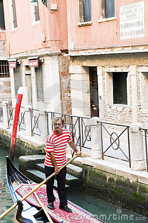Gondolier Editorial Photography
