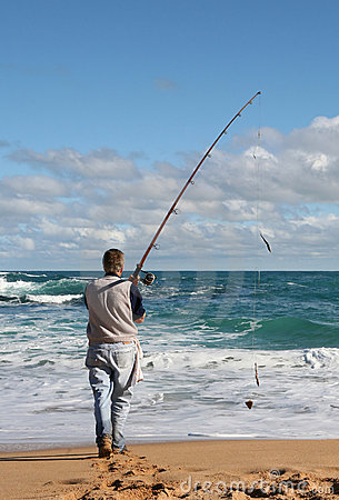 Free Gone Fishin  Stock Photography - 918662