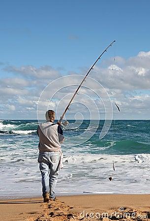 Free Gone Fishin  Stock Photography - 918662