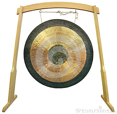 Free Gong Stock Photo - 34045480