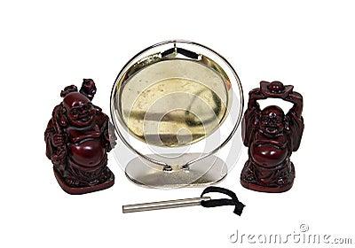 Gong and Buddha