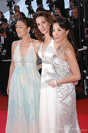 Gong Li,Michelle Yeoh Editorial Stock Photo