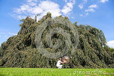 Gong Sound Healing Royalty Free Stock Photo - Image: 26950235