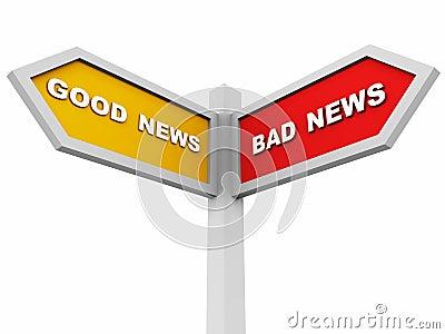 Good or bad news