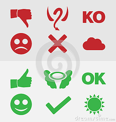 Good and bad symbols