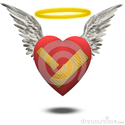 Free Good But Wounded Heart Stock Photography - 31803752