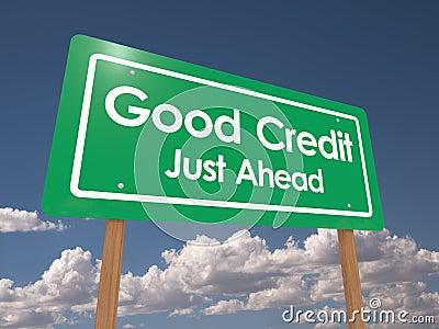 Good credit just ahead