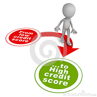 Bad Credit Credit Cards >> Good Credit Score Royalty Free Stock Images - Image: 31247439
