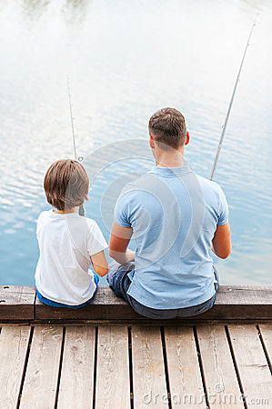 Good day for fishing stock photo image 45019189 for Good day for fishing