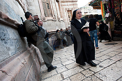Good Friday in Jerusalem Editorial Stock Image