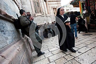 Good Friday in Jerusalem Editorial Stock Image