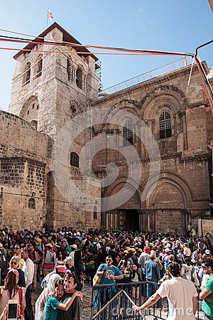Good Friday in Jerusalem Editorial Photography