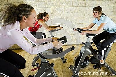 Good fun at gym