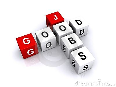 Good Jobs Stock Photo