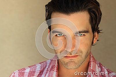 Good looking guy portrati