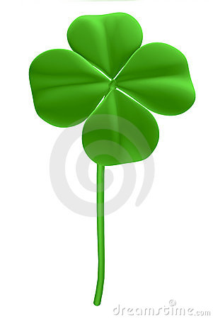 Good luck - four leaf clover