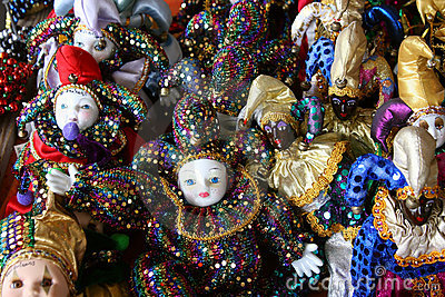 Good Luck Mardi Gras Dolls