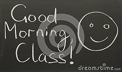 Good Morning, Class! Stock Photos - Image: 2103283