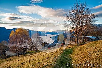 Good morning lake