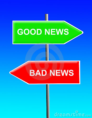 Free Good News, Bad News Stock Photography - 16560842