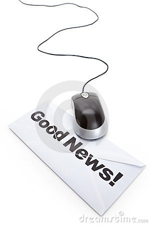 Good News and computer mouse