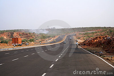 Good road highways - a new face of India