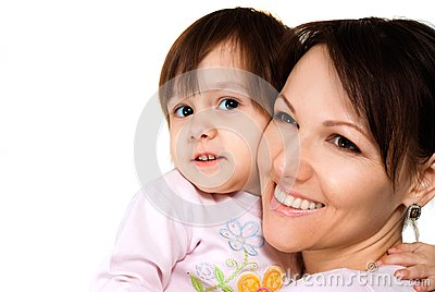 Good woman with a daughter