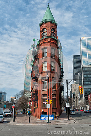 Gooderham Building, Toronto Editorial Photo