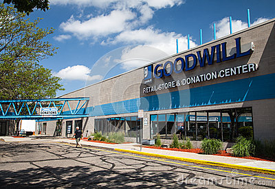 Goodwill store in colorado editorial photography image for Is goodwill a non profit organization